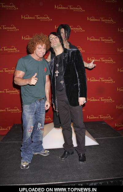Carrot Top and Criss Angel at Re-Appears For Wax Figure Unveiling at Madame Tussauds Las Vegas on May 21, 2009