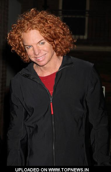 "Carrot Top at 2nd Anniversary of ""CSI: The Experience"" at the MGM Grand Hotel and Casino in Las Vegas"