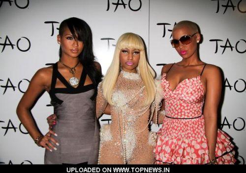 Cassie, Nicki Minaj and Amber