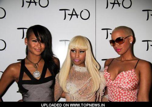 nicki minaj and amber rose pics. Cassie, Nicki Minaj and Amber