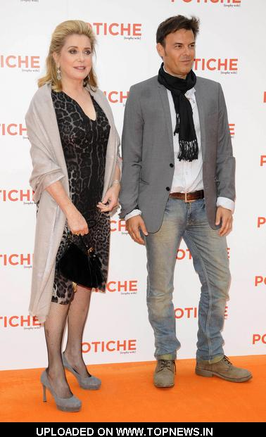 "Catherine Deneuve and Francois Ozon at ""Potiche"" UK Premiere - Arrivals"