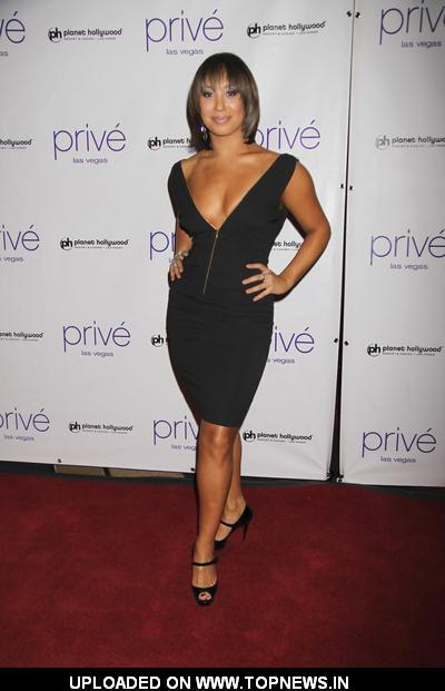 Cheryl Burke at New Year's Eve Celebration Hosted by Denise Richards and Lance Bass at Prive Nightclub Las Vegas on December 31,