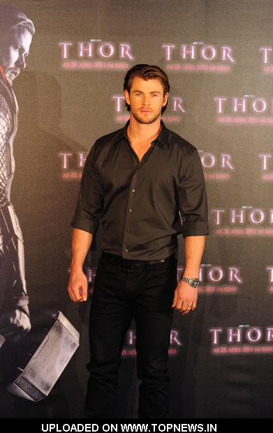 "Chris Hemsworth at ""Thor"" Munich Photocall"