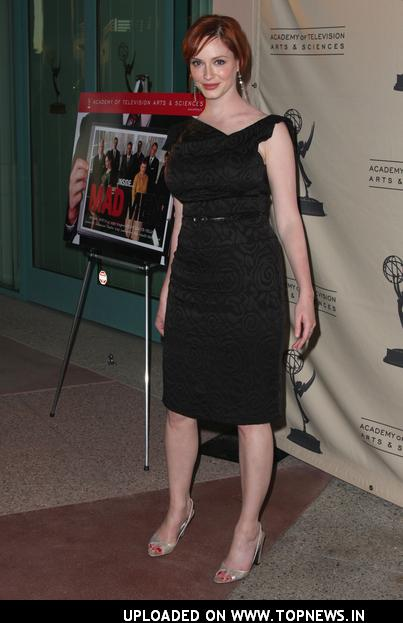 christina hendricks mad men pics. Christina Hendricks at An