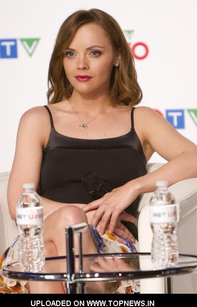 Christina Ricci at CTV Upfront Presentation Press Conference in Toronto
