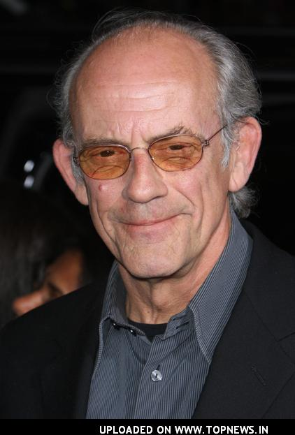 christopher lloyd doc. Here Doc Brown is now.