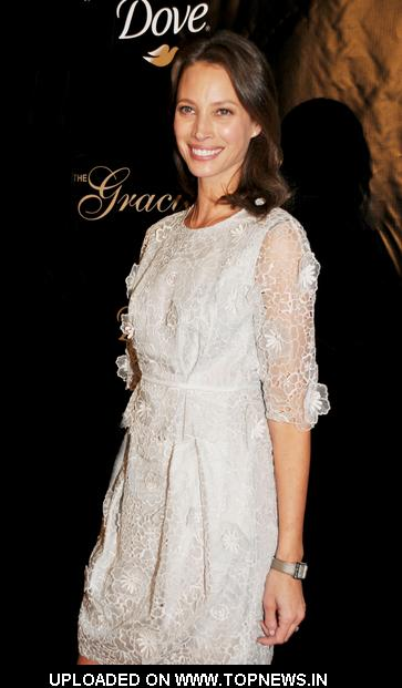 Christy Turlington at 36th Annual Gracie Awards Gala - Arrivals