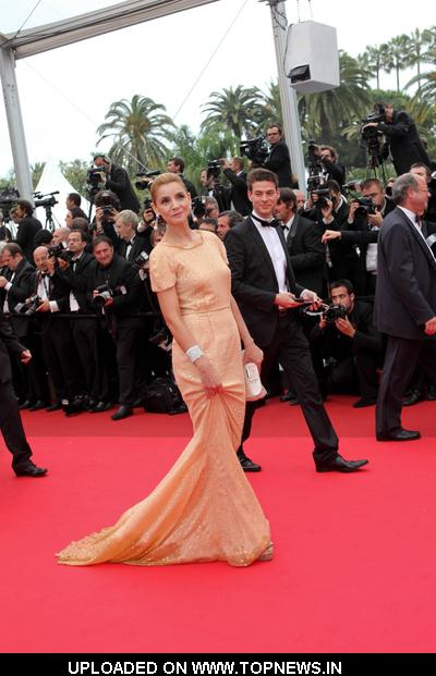 "Clotilde Courau at 4th Annual Cannes Film Festival - ""Pirates of the Caribbean: On Stranger Tides"" Premiere - Arrivals"