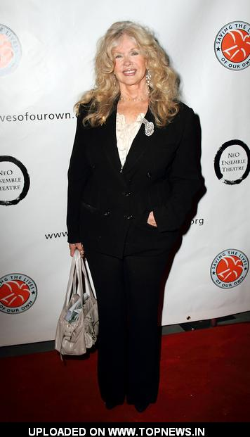 "Connie Stevens at ""1 Voice"" A Celebrity Evening of Monologues, Music and Memories - Arrivals"
