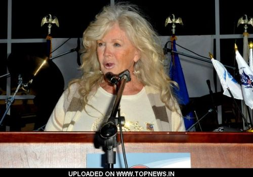 "Connie Stevens at ""Bikers Helping Veterans"" 9/11 West Coast Charity Ride to Benefit the New Veterans Home of California"