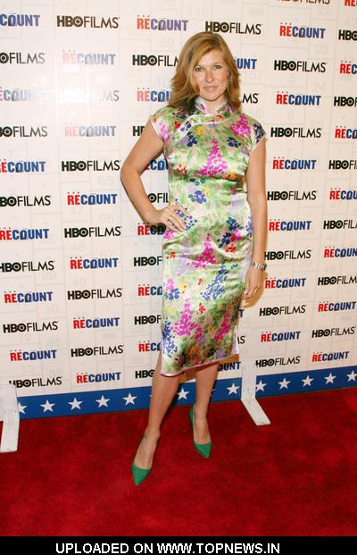 "Connie Britton at ""Recount"" New York City Premiere - Arrivals"