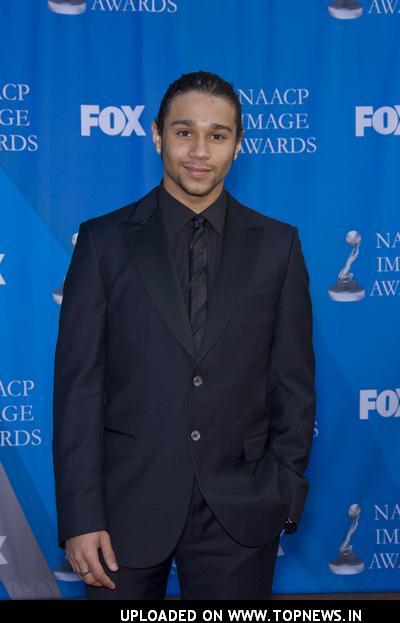 Corbin Bleu at 39th NAACP Image Awards - Red Carpet