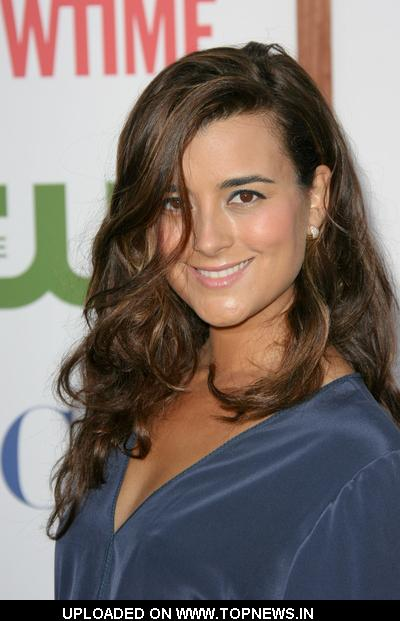 Cote de Pablo at CBS, The CW and Showtime TCA Party - Arrivals