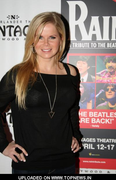 "Crystal Hunt at ""Rain: A Tribute to the Beatles"" at the Pantages Theatre - Arrivals"
