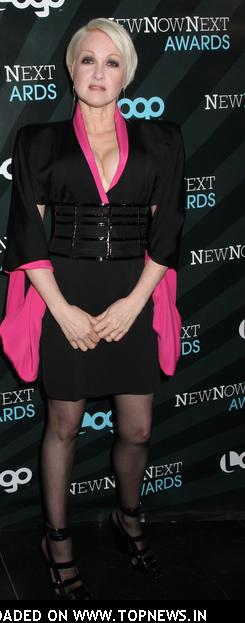 Cyndi Lauper at 2008 NewNowNext Awards - Arrivals