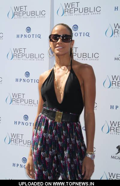 Dania Ramirez Hosts Day at Wet Republic Pool in Las Vegas on September 25, 2010
