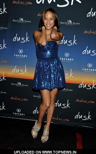 Dania Ramirez Hosts Dusk Nightclub in Atlantic City on December 4, 2010