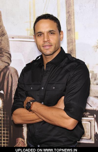 Daniel sunjata at the lincoln lawyer los angeles premiere arrivals