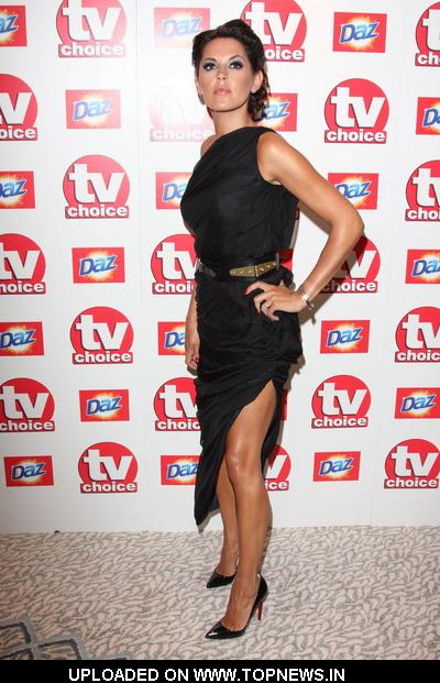 Danielle Lineker at TV Choice Awards 2010 - Arrivals