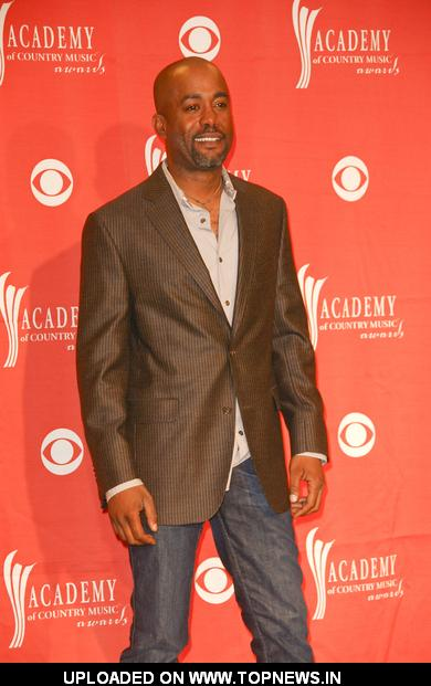 Darius Rucker at 44th Annual Academy of Country Music Awards - Press Room