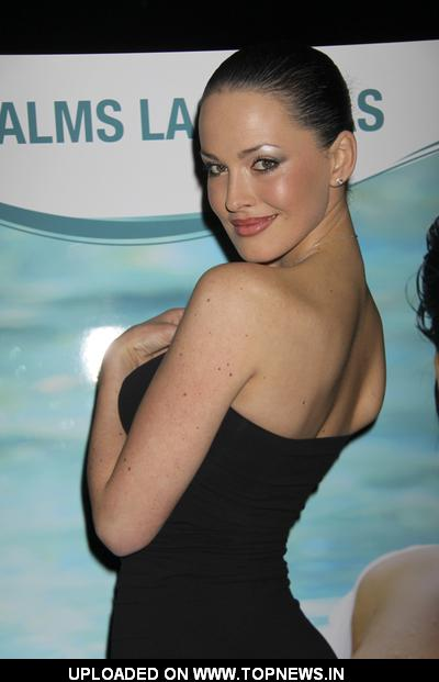 Playboy Playmate Dasha Astafieva Signs Copies of the Playboy Magazine in Las Vegas