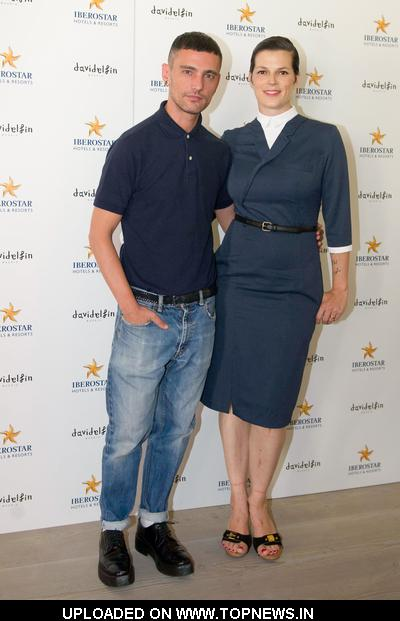David Delfin and Bimba Bose Presents the New Iberostar Hotel Uniforms in Madrid