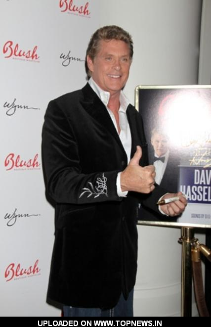 David Hasselhoff Celebrates 59th Birthday in Vegas
