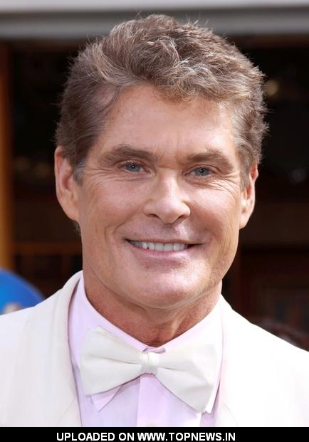 "David Hasselhoff at ""Hop"" Los Angeles Premiere - Arrivals"