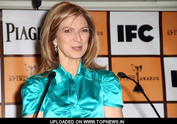 Dawn Hudson at 2011 Film Independent Spirit Award Nominations Press Conference