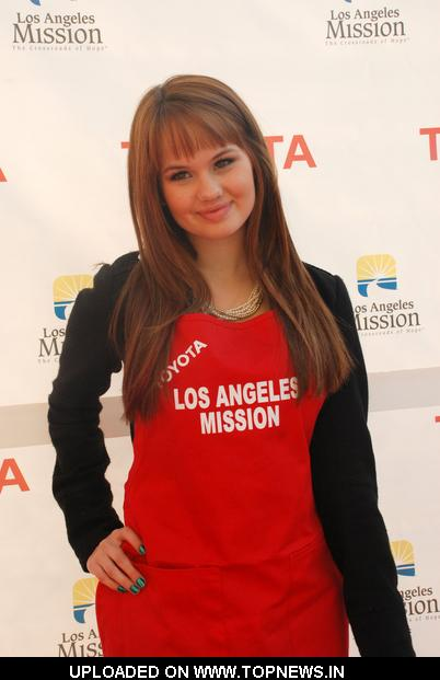 Debby Ryan at 2010 Christmas