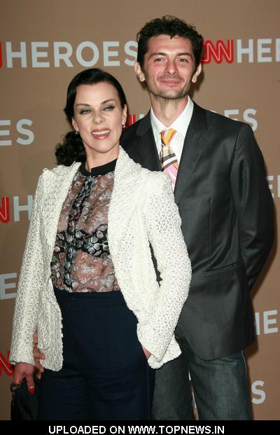 Debi Mazar and husband