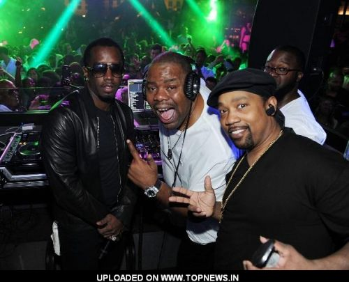 P. Diddy Celebrates Memorial Day Weekend at Chateau Nightclub & Gardens with Black & White Affair