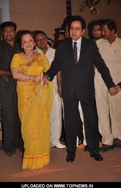 Dilip Kumar And Saira Banu At Honey Bhagnanis Wedding Reception