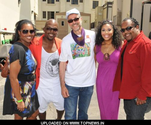 Tionne Williams, Dr. Ernie Katz, Adrienne Anderson and Don Nash at Children's Hospital Los Angeles Celebrate Life with HOPE 2011