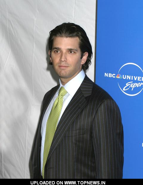 Donald Trump, Jr. at The 2008 NBC Universal Experience Upfronts - Arrivals