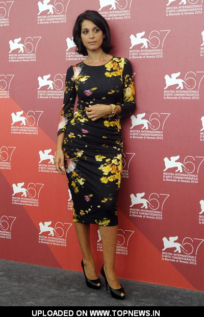"Donatella Finocchiaro at 67th Annual Venice Film Festival - ""I baci mai dati"" Photocall"