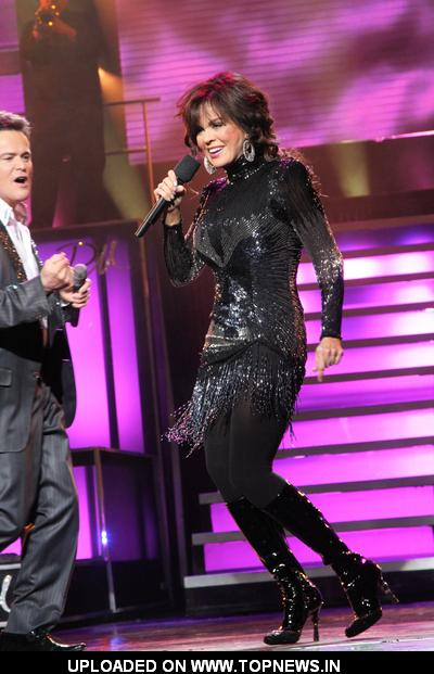 Donny Osmond and Marie Osmond Celebrate Their 500th Show at the Flamingo in Las Vegas on March 23, 2011