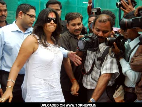 Ekta Kapoor at Civil Court, Churchgate for Haji Mastan's Case
