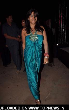 "Ekta Kapoor launches her new serial ""Kya Hua Tera Wada"" at JW Marriott"