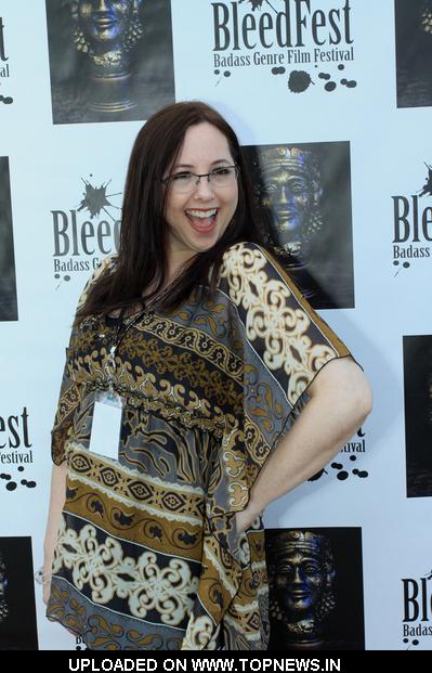 Elisabeth Fies  at  BleedFest Film Festival and FantAsian Film Fundraiser