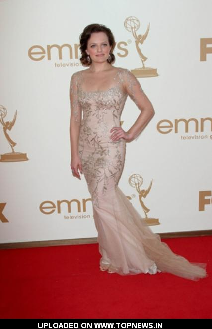 Elisabeth Moss at 63rd Annual Primetime Emmy Awards Arrivals