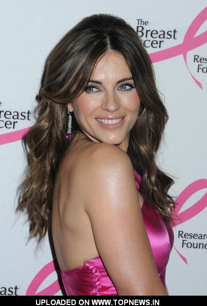 Elizabeth Hurley at  Breast Cancer Research Foundation's 2009 Annual Benefit The Hot Pink Party - Arrivals