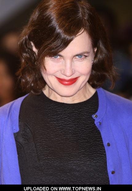 "Elizabeth McGovern at ""One Day"" European Premiere - Arrivals"