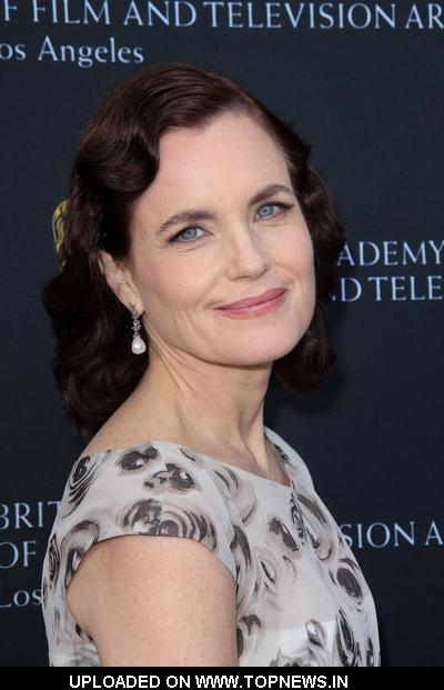 Elizabeth McGovern at 9th Annual BAFTA Los Angeles Tea Party - Arrivals