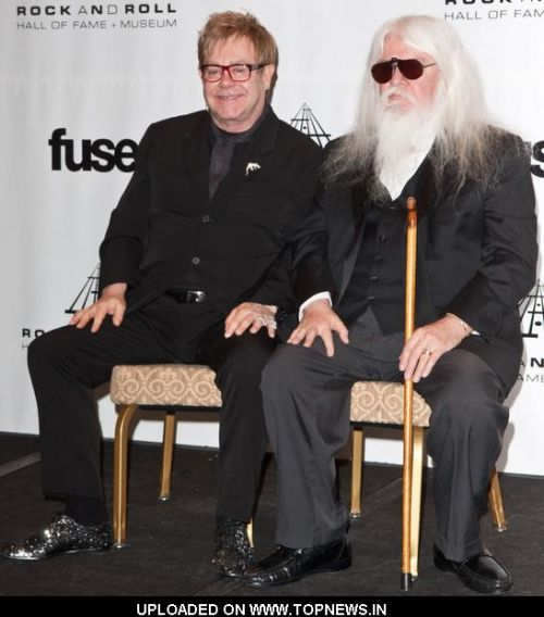 ELTON AND LEON IN 2010