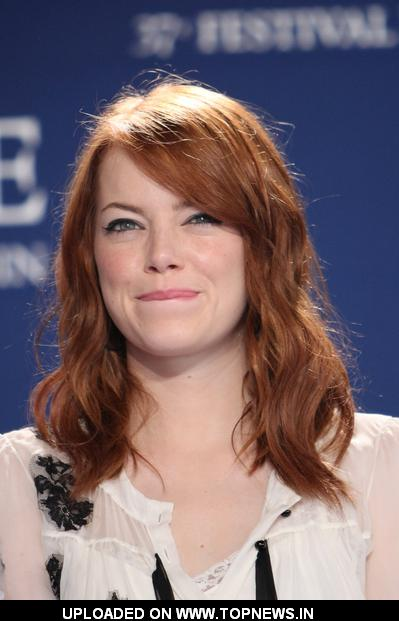 "Emma Stone at 37th Annual Deauville American Film Festival - ""The Help"" - Photocall"