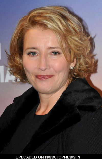 "Emma Thompson at ""Last Chance For Love"" Paris Photocall"