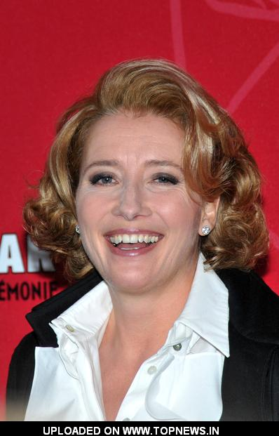 Emma Thompson at Cesar Film Awards 2009 - Arrivals