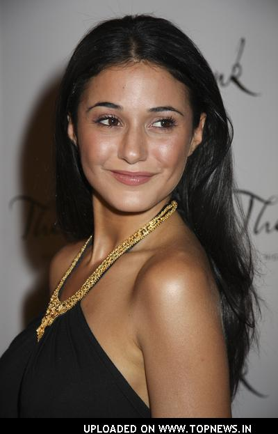 Emmanuelle Chriqui  at Grand Opening Celebration at The Bank in Las Vegas
