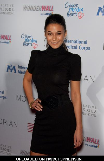 Emmanuelle Chriqui  at Children Mending Hearts - Arrivals